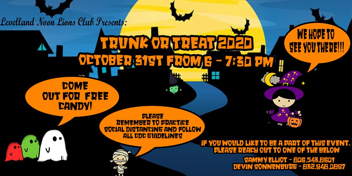 Trunk or Treat AD